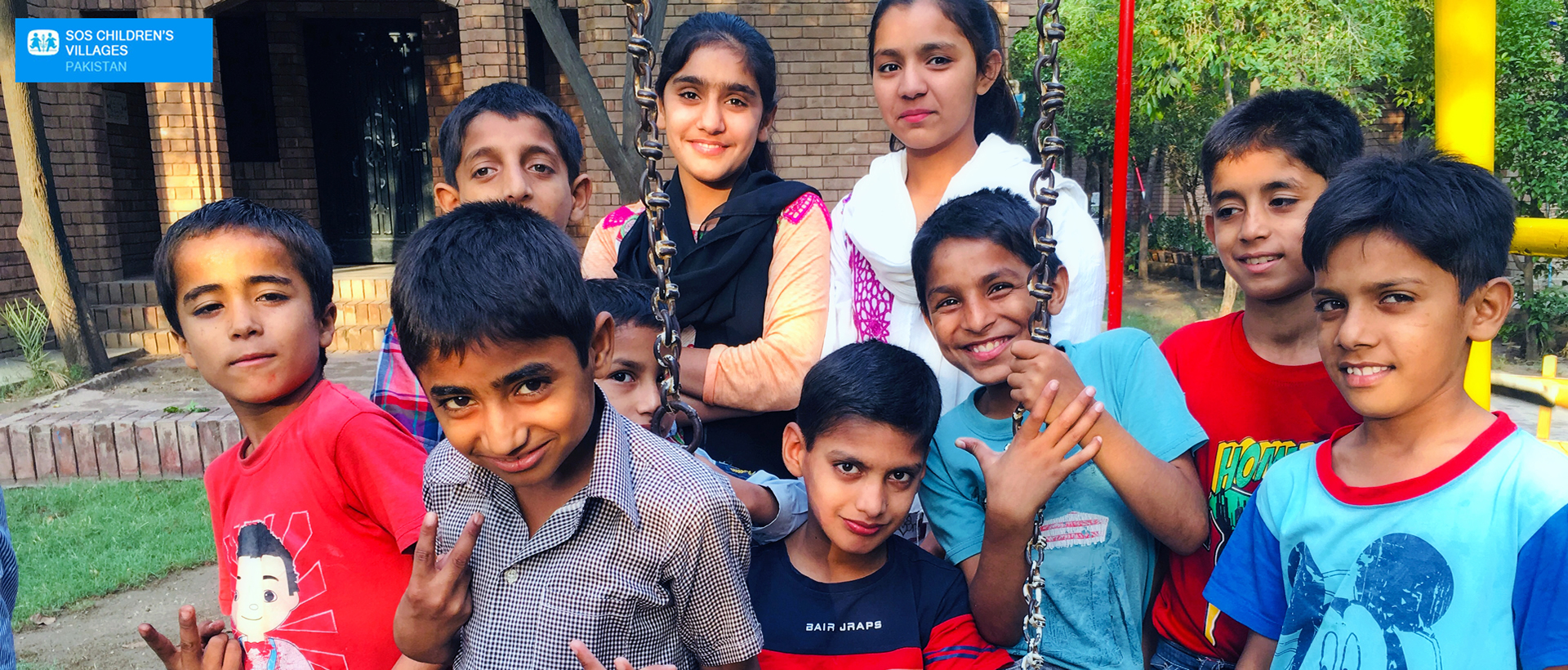 SOS Children's Villages Pakistan - A loving home for every child